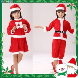裝扮 聖誕節 裝扮服 男女童適穿 褲子 裙子【HH婦幼館】