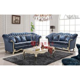 ^~紅蘋果傢俱^~ SF~053 雅致系列 新古典 歐式 法式 布沙發 沙發組 椅子 工廠