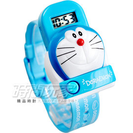 DORAEMON 哆啦A夢按鈕彈跳 腕錶 童錶 男錶 AI~930立體