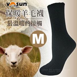 ~VOSUN~  高 耐寒超彈性中筒保暖羊毛襪^(M號 排汗透氣款^)羊絨雪襪.厚襪.學生