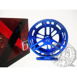 ◎百有釣具◎士貿 X6雙色前打輪ADG 9/11 造型新穎  金屬質感高貴~再送母線 顏色隨機出貨