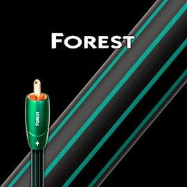 視紀音響 美國 AudioQuest 森林 Forest 線 同軸線 0.75米 含銀0.