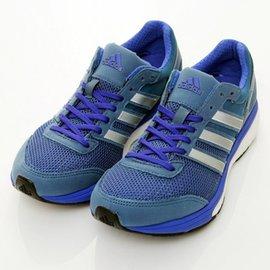 ADIDAS~ADIZERO BOSTON女慢跑鞋B40472~藍