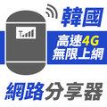 ~TPHONE上網 ~韓國 無限高速4G分享器 全韓國 以 全韓國收訊最強