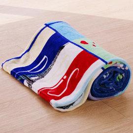 Lapin 快樂單車 四季法蘭絨毯 150x190cm