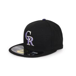 NEW ERA MLB 落磯山隊帽(AC)(免運 主場正式球員帽 59FIFTY 【98490390】≡排汗專家≡