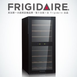 【全球家电网】美国富及第Frigidaire Dual-zone 32瓶装质感双温酒柜 FWC-WD32SX