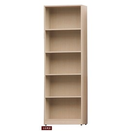 ~台北家福~ FS956~202  白橡色2尺木心板置物架