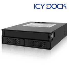 ~~ICY DOCK~全金屬雙層2.5吋SATA SAS HDD SSD 單一3.5吋薄型
