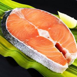 ~鮮之流~智利厚切鮭魚片 425g 片
