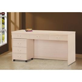 ~台北家福~^(FY219~7641^)白橡5尺書桌傢具