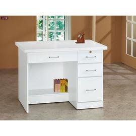 ~台北家福~^(FY223~963^)白色3.2尺書桌下座傢具