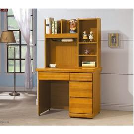 ~台北家福~^(FY226~393^)天長地久香杉色3.2尺書桌^(全組^)傢具