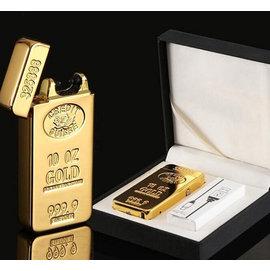 G K SHOP 電磁脈衝電弧 黃金 金條 金屬 USB 充電式 電子打火機 點煙器 防風