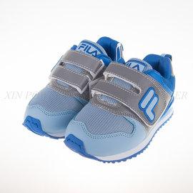 FILA 復古 休閒 兒童 慢跑鞋-(2-J430Q-333)
