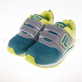 FILA 復古 休閒 兒童 慢跑鞋-(2-J430Q-666)