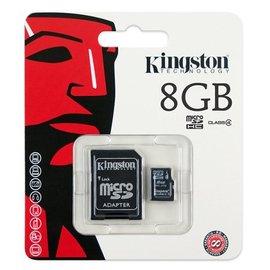 ~CXX電腦~金士頓 Kingston 8G microSDHC Class4 記憶卡 8