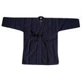 濟武:夏日最夯 ^(特殊薄款^)一重織 劍道衣^(正藍染^)~菱形格式編織吸汗輕柔透氣水洗