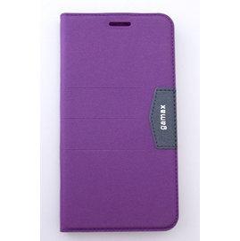 gamax ASUS ZenFone Max(ZC550KL) 側翻式手機保護皮套 Perfect 完美系列 紫 &另有 ZenFone 3 (ZE552KL)/(ZE520KL) 歡迎詢問