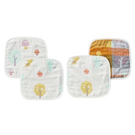 奇哥 快樂森林六層紗方巾(2入)(TAL618000)