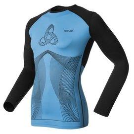 odlo muscle force 款 保暖壓縮衣~158102~23601~藍~男~UA