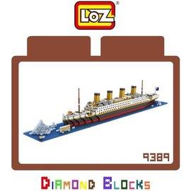 LOZ 迷你鑽石小積木 樂高式 鐵達尼號 系列 9389 益智玩具 玩具   師款