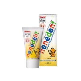 ~121婦嬰用品~貝恩nenedent木糖醇兒童牙膏^(綜合水果口味^)50ml