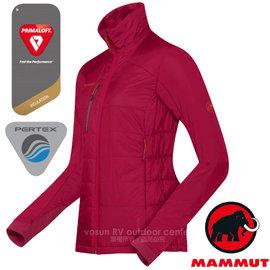 【瑞士 MAMMUT 長毛象】女新款 Biwak Pro IS 超輕量Pertex+PrimaLoft 防風防潑透氣保暖夾克外套(僅290g.中層衣)賞雪衣/18390-6188 暗粉紅