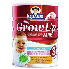 桂格成長奶粉三益菌配方1500g
