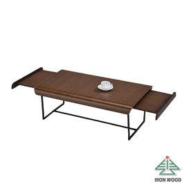 ~Ailiwu愛麗屋~收納藝術伸縮桌~鐵刀木^#1395~WE ~ 大茶几 客廳桌 和室桌