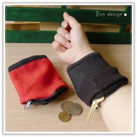 【Q禮品】A2776 手腕收納袋/拉鍊手腕包/手腕零錢包/小物收納袋/護腕/鑰匙包/手腕套/收納包/運動手腕袋