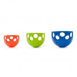 【紫貝殼】『CF07』美國 Kids II-Oball 洞動洗澡歡樂杓子【洞動設計方便抓取,可盛水、倒水,訓練手臂肌肉】