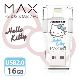 PhotoFast i~FlashDrive MAX Hello Kitty 16G US