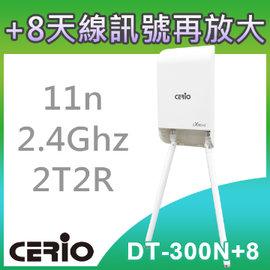 ~◆加送高功率天線x2~◆ CERIO 智鼎~DT~300N 8~eXtreme Powe