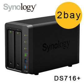 Synology NAS DiskStation DS716 2bay NAS 儲存伺服器