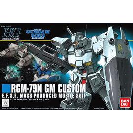 ~BANDAI~鋼彈UC HGUC 1 144 RGM~79N GM Custom 吉姆特