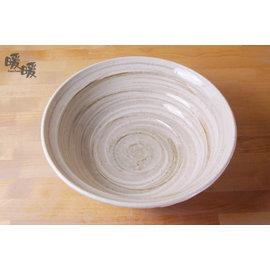 lt 暖暖瓷器 gt 陶藝白刷碗~~ 微波烤箱   陶瓷餐盤  安心安全  入厝  深夜食