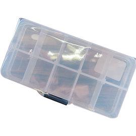 ◎百有釣具◎V-FOX maRuechII 零件盒 BOX#10146  13*7*2(CM) 可拆隔間,有吊掛孔