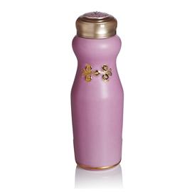 乾唐軒活瓷•吉星華風一手瓶(小  單層  鎏金 玫瑰粉  施華洛世奇元素)