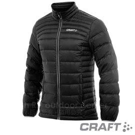 【瑞典 Craft】男款Alpine Light Down Jacket 機能性高山羽絨外套(90/10水鳥羽絨).輕量防潑水羽絨衣.夾克.雪衣_1902294-9920 黑