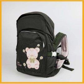 背巾 嬰兒用品 外出用品 粉熊背巾 三款可挑 【HH婦幼館】