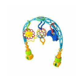 O ball 洞動歡樂動物嬰兒車/床夾玩具組 (KI81536)
