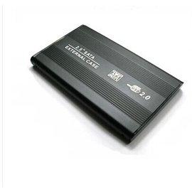新竹市 USB 2.0 鋁合金外殼 行動硬碟盒/筆電外接盒 (SATA - 2.5寸/2.5吋) [DUS-00001]