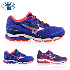 MIZUNO WAVE INSPIRE 12 女慢跑鞋(免運 路跑 寬楦 美津濃【02015247】≡排汗專家≡