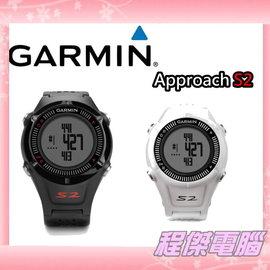 『高雄程傑電腦』GARMIN Approach S2 中文高爾夫球GPS腕錶 黑 白兩色