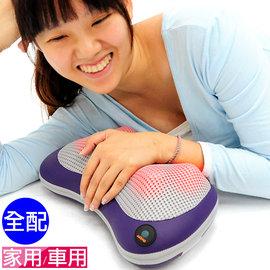 溫熱敷揉捏按摩枕頭P160-CM100 (按摩球肩頸按摩器材.溫揉舒壓按摩機器.腳底按摩器按摩用品.肩頸按摩帶.推薦哪裡買)