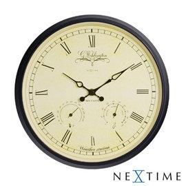 ~歐型 館~NeXtime~古典溫濕度時鐘 25cm