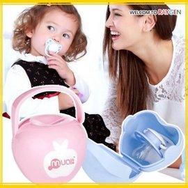 嬰兒用品便攜式小蘋果安撫奶嘴盒 收納盒【HH婦幼館】
