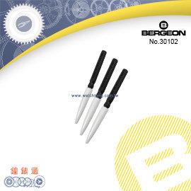 ~鐘錶通~B30102~瑞士BERGEON~ 油筆 _黑管 機芯點油筆 油針筆 單支~油品