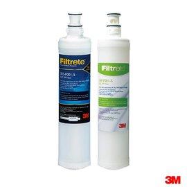 【淨水生活】3M 公司貨 SQC 前置PP濾心 3RS-F001-5 + 樹脂軟水濾心3RF-F001-5【2入】